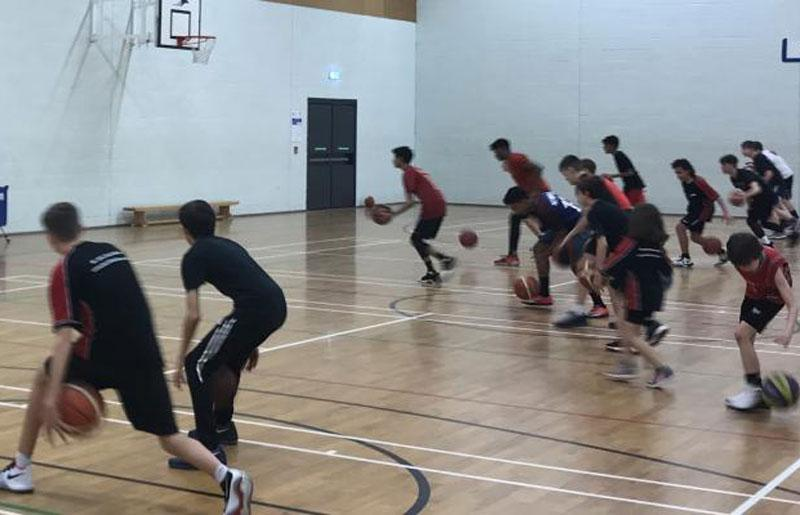 Blackhawks Basketball Winter Camp