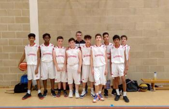 U14 boys (CVL - class of 2018-19 with coach Nigel Barclay)
